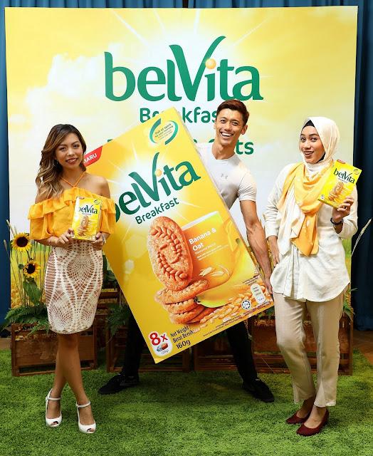 belVita Breakfast Biscuits Launches New Banana & Oats Flavour