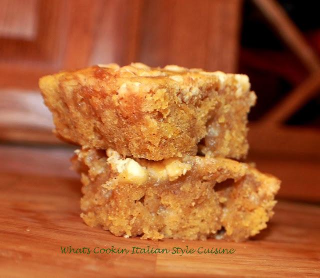 White Chocolate Pumpkin Spice Bar Recipe