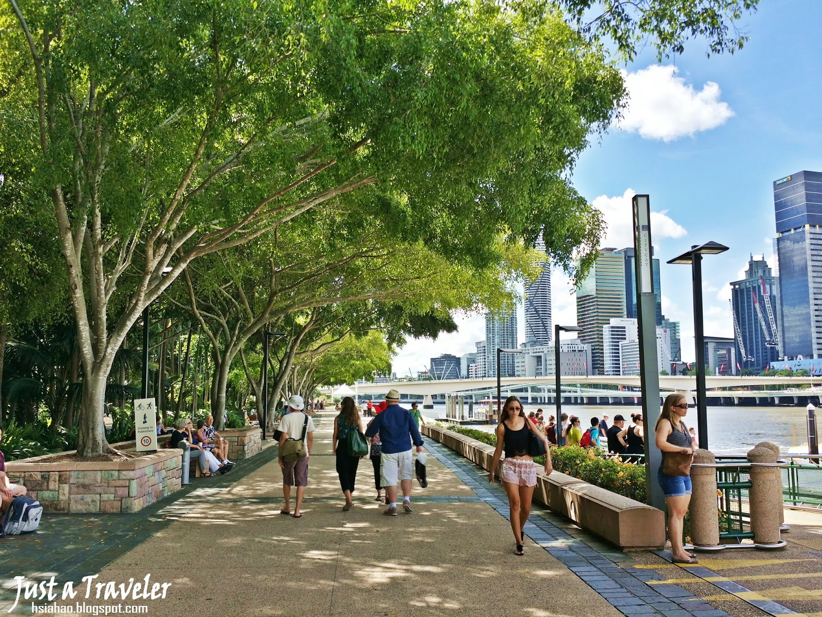 布里斯本-海灘-景點-市區-南岸公園-遊記-推薦-Brisbane-South-Bank-Parklands