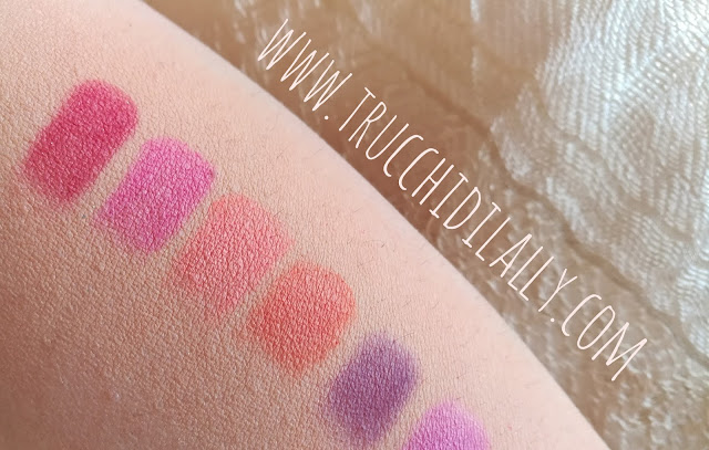 Swatches prima parte Ultimate Bright
