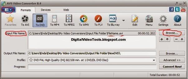 DIGITAL VIDEO TOOLS: How to Convert AVI to DVD - A Step by