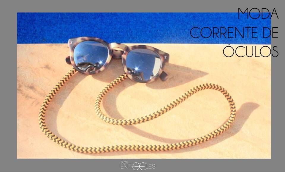 c5c6054144811 A corrente ou cordinha para óculos é um acessório antigo, mas que nunca  circulou pelo universo fashion com tanta personalidade e aceitação como  atualmente.