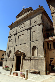 The church of Santi Simone e Guida in the ancient town of Radicondoli