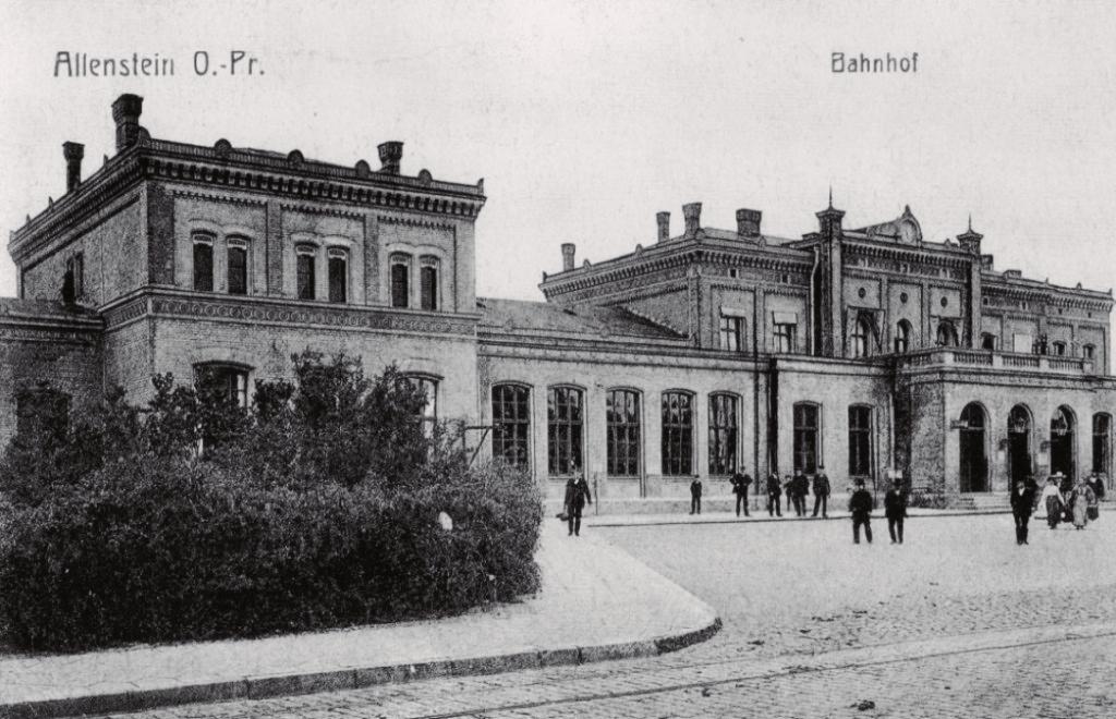 Wiadukty w Lidzbarku Warmińskim, fortyfikacje w Tomarynach i dworzec w Olsztynie – kolej na Warmii