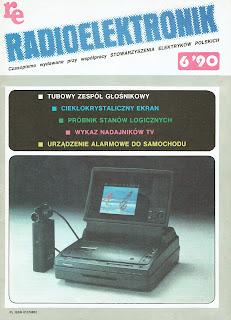Okładka Radioelektronik 6'90 1990
