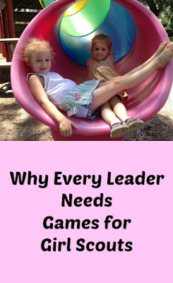 Every Girl Scout Leader Needs Games for Girl Scouts-A Book That Will Grow With Your Troop.