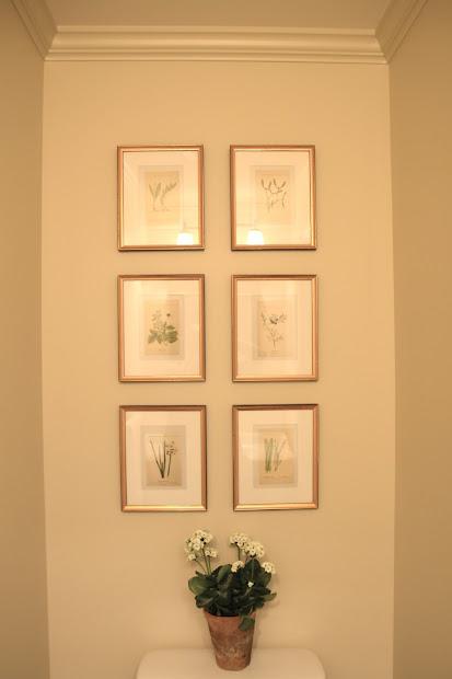 Jenny Steffens Hobick Gold Leaf Frames Mat Boards