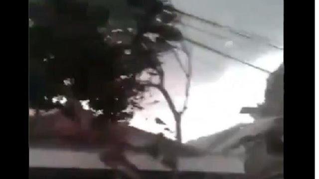 Angin Puting Beliung Melanda Cirebon; Satu Orang Meninggal Dunia, 165 Rumah Rusak
