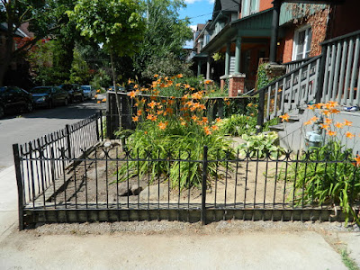 Leslieville Front Yard Garden Summer Cleanup After by Paul Jung Gardening Services--a Toronto Gardening Company