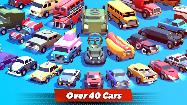 Game Crash of Cars Mod Apk