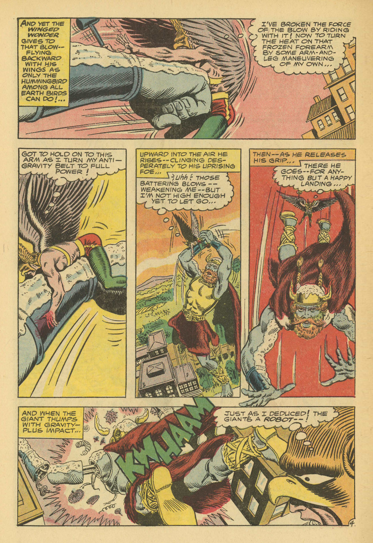 Hawkman (1964) issue 13 - Page 6