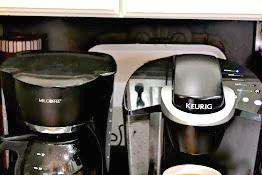Kitchen Coffee Station Organization