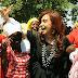 """En 2012, Cristina Kirchner llevó a Jorge Castillo a Angola: """"La Salada es parte de la Argentina"""""""