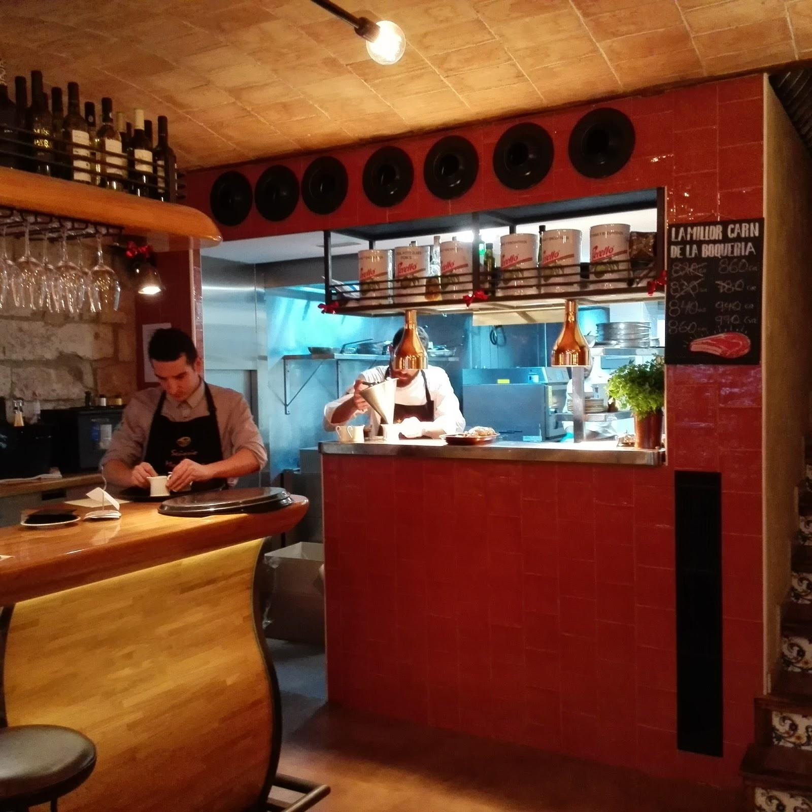Restaurante la bellvitja barcelona la cocina de los for La cocina de los valientes