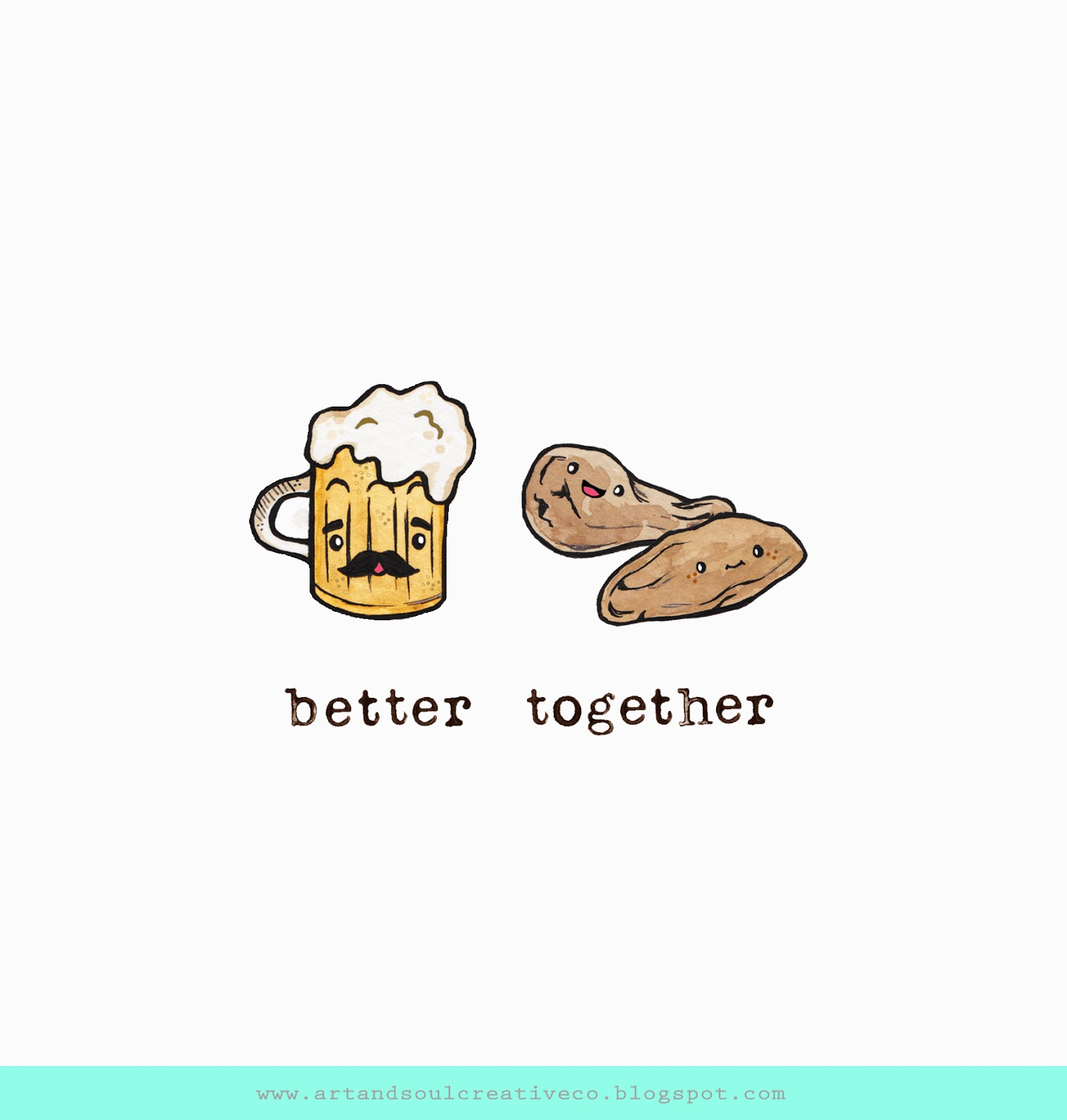 better together day 28 beer wings is today s requested