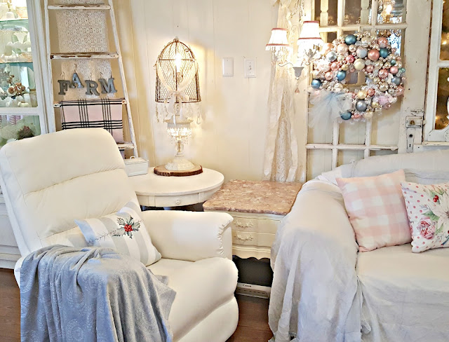 Penny S Vintage Home New White Leather Chairs For The