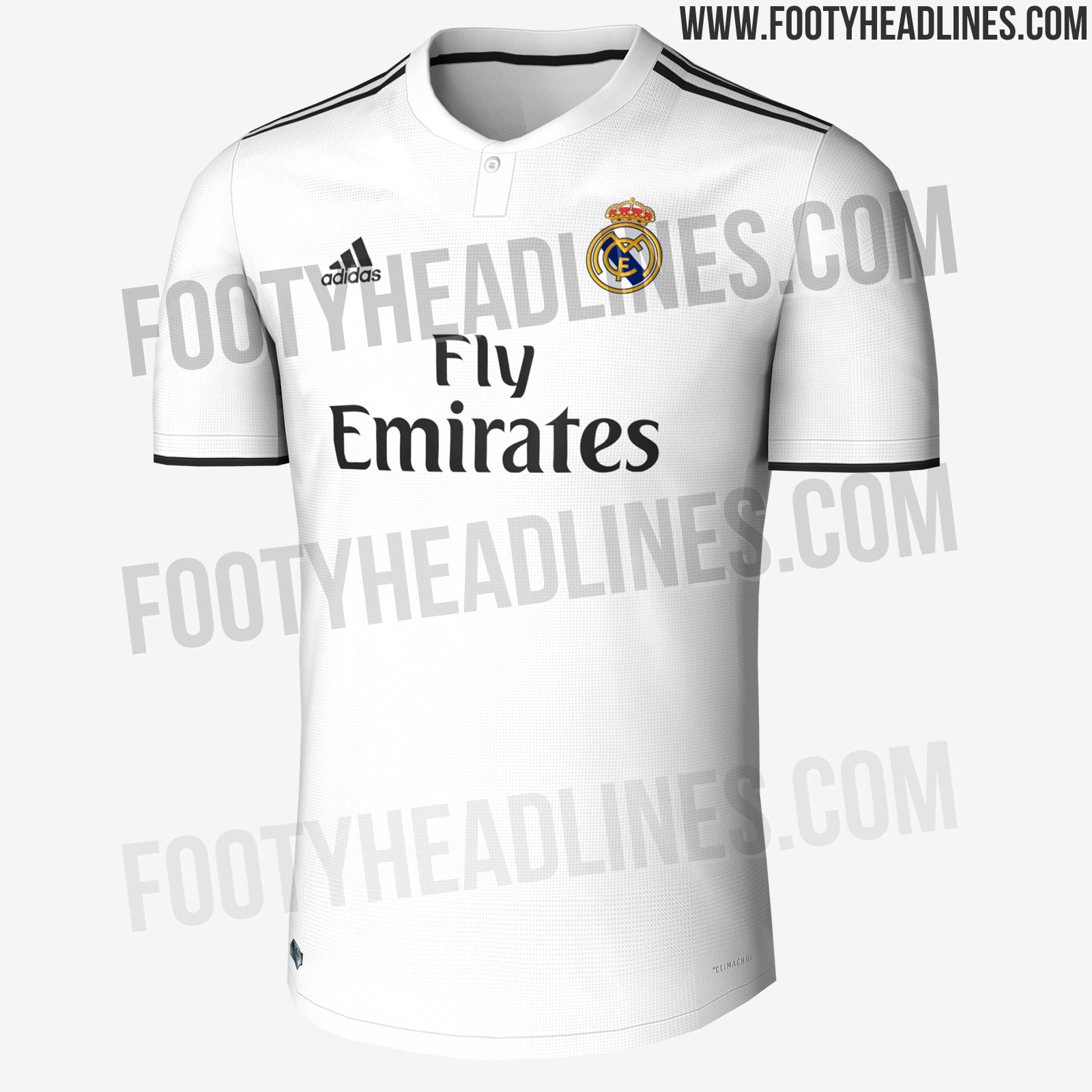 dec099aaf Adidas Real Madrid 18-19 Home   Away Kits + Release Dates Leaked ...