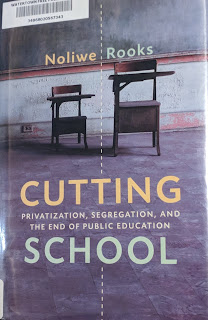 Book cover to Cutting School by Noliwe Rooks