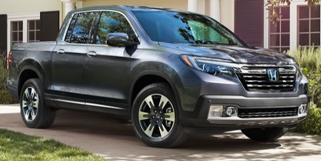 2017 Honda Ridgeline Feature USA