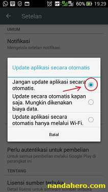 Aplikasi Play Store Tidak Update Otomatis di Android Tutorial Agar Game/Aplikasi Play Store Tidak Update Otomatis di Android Kamu