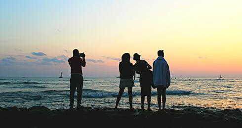 waikiki sunset hawaii