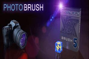 تحميل برنامج الكتابة على الصور فوتو برش photo brush للكمبيوتر
