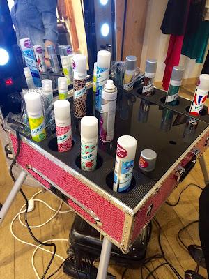shampoing sec baptiste