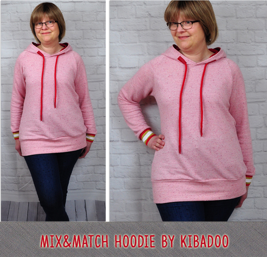 Mix&Match Hoodie by Kibadoo