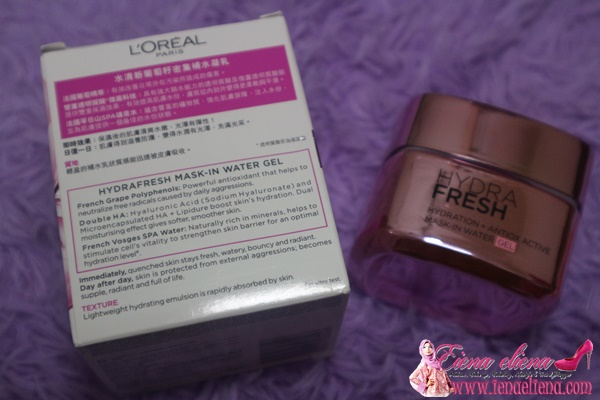 Loreal Hydrafresh Masi In Water Gel