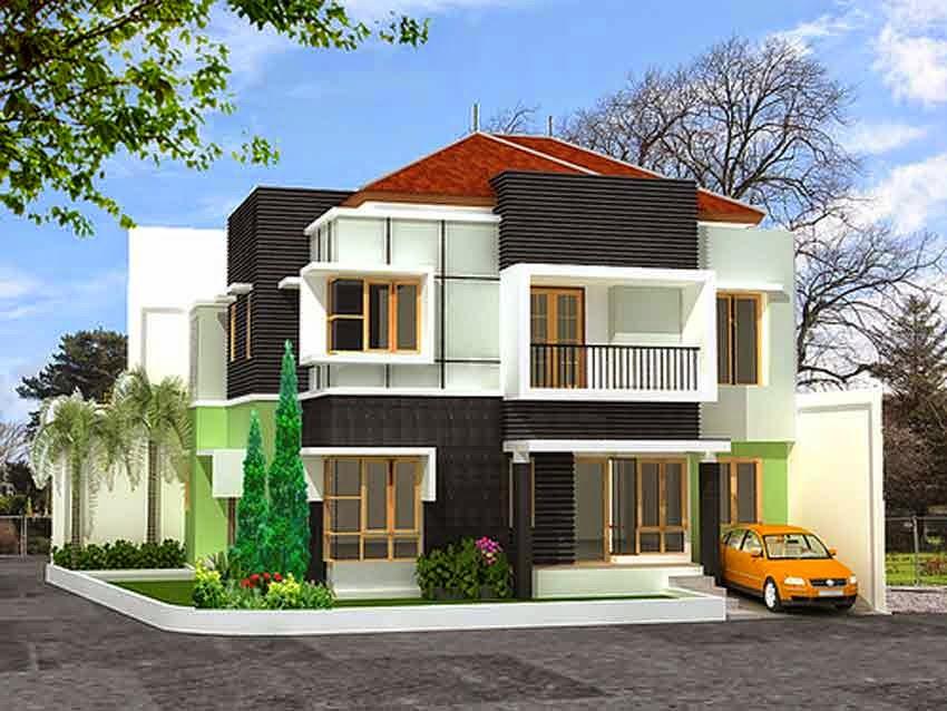 Desain Rumah Minimalis 2 Lantai Di Hook  Rumah Minimalis