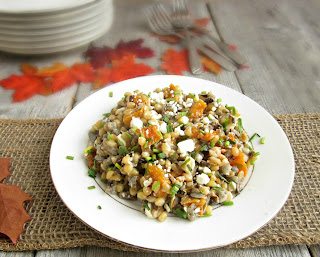 Wheatberry, Wild Rice and Butternut Squash Salad