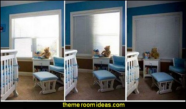 Total Blackout Window Covering  window treatments - curtains - window decorations - sheers - Drapes & Valance Sets - ruffled curtains - cornice - window murals - do-it-yourself window ideas - Room Dividers