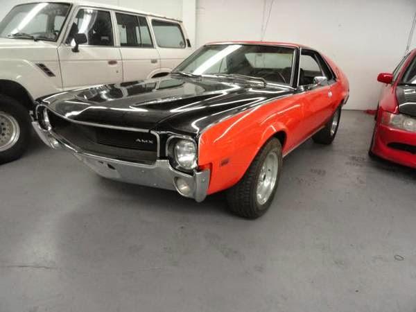 1968 AMC AMX Rare Muscle Car