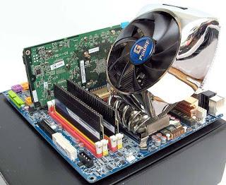 O foco principal dos usuários que fazem overclock em seus PCs é no processador, na memória, no chipset da placa-mãe e na placa de vídeo