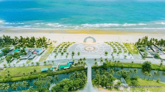 Cảnh quan thực tế Hoa Tiên Paradise
