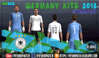 Germany World Cup 2018 kits for PES 2013