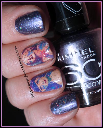 Rimmel ~ Punch 'n' Judie ~ Movie star nails