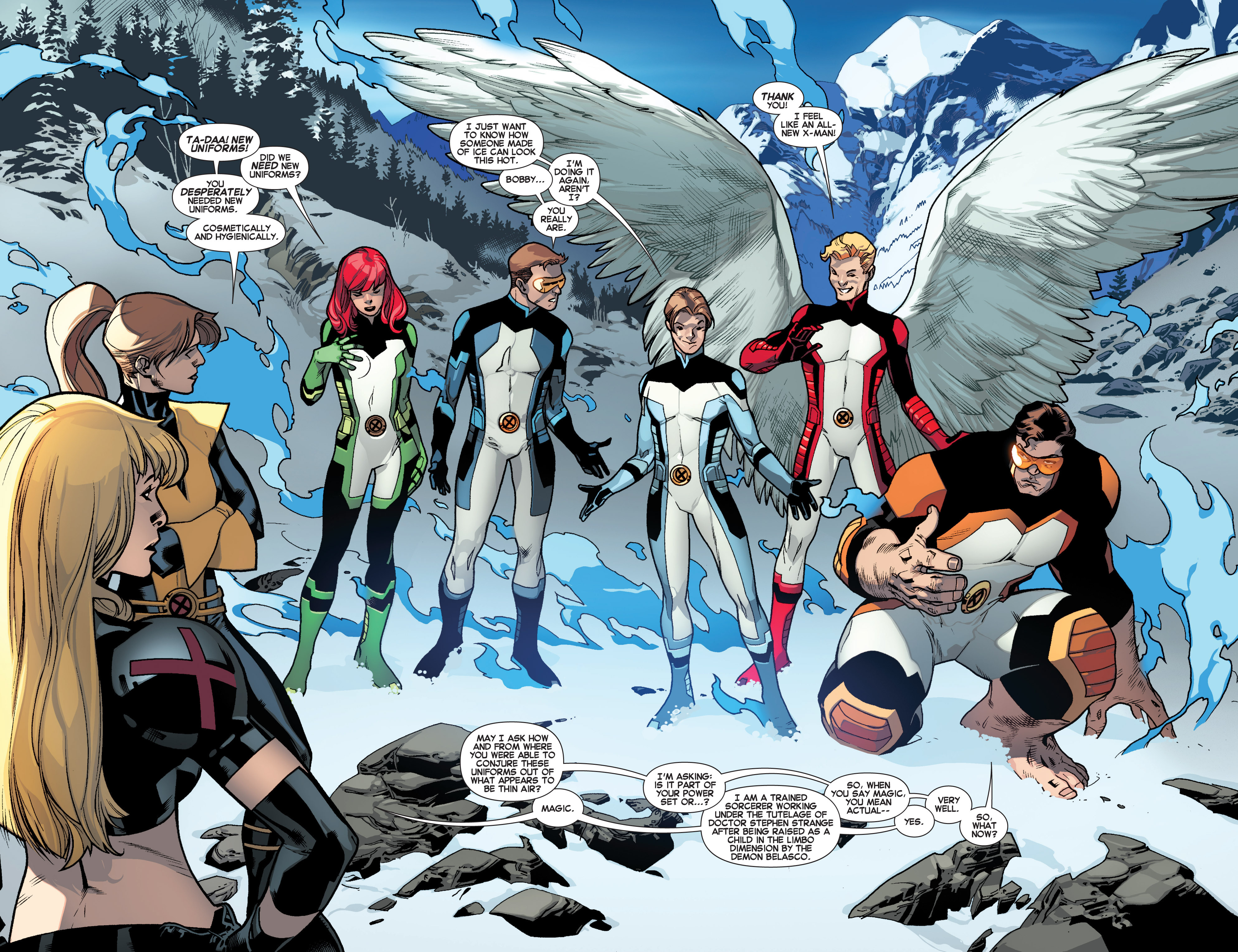Read online All-New X-Men (2013) comic -  Issue # _Special - All-Different - 16