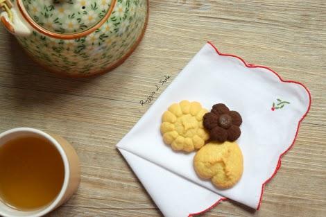 Biscotti di frolla montata all'olio o frolla viennese, ideale per la sparabiscotti