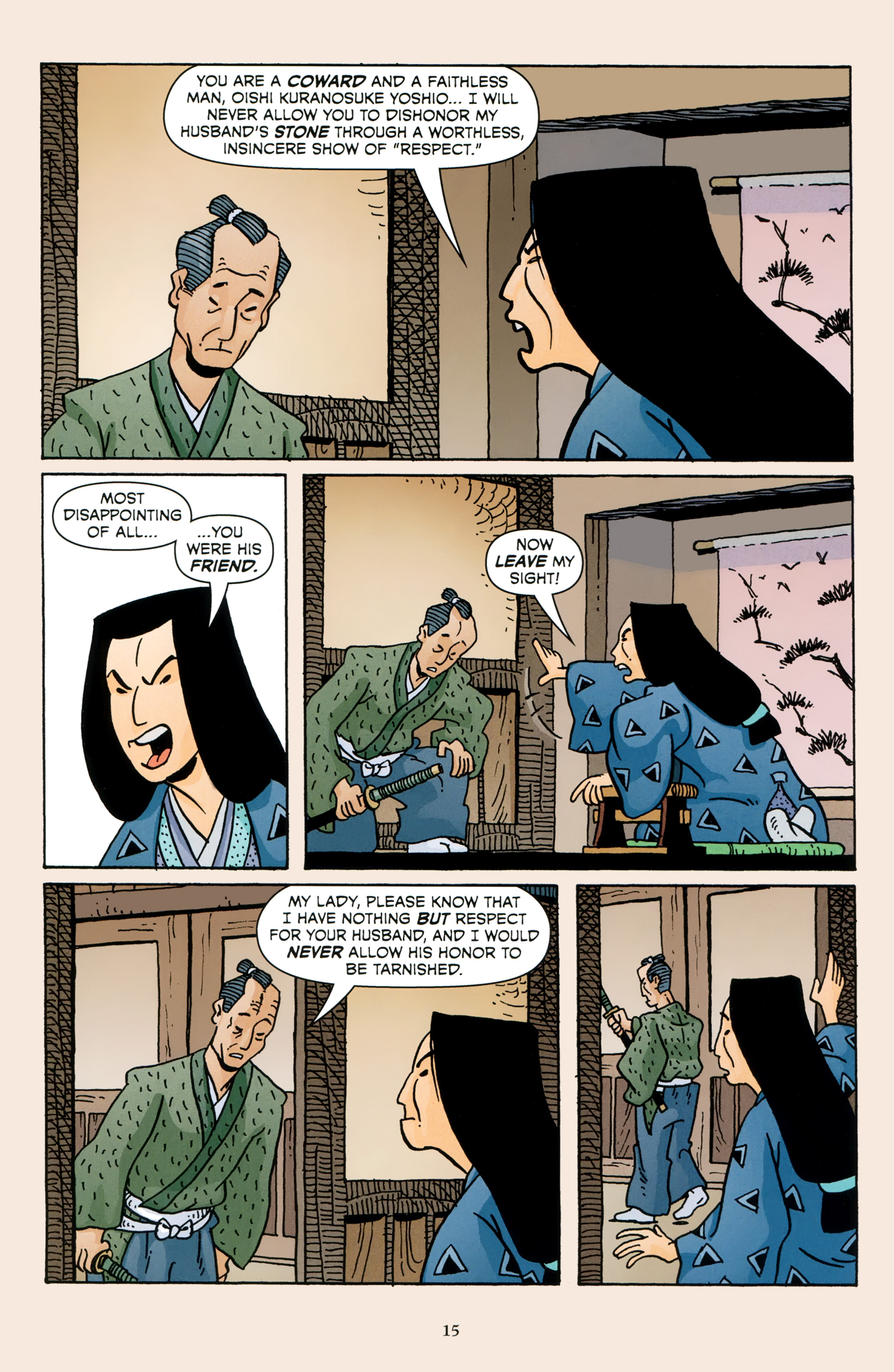 Read online 47 Ronin comic -  Issue #4 - 17