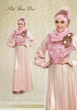 Desain gaun pesta muslim untuk anak kuliahan