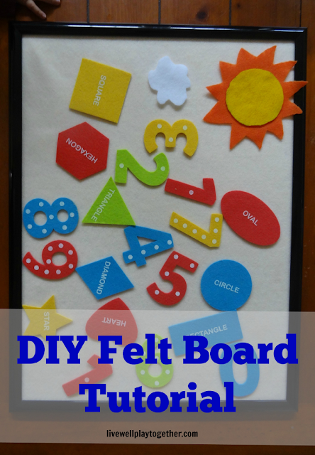 http://www.livewellplaytogether.com/felt-board-diy-tutorial/