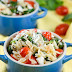 Tomato Feta Orzo Salad Cups Recipe