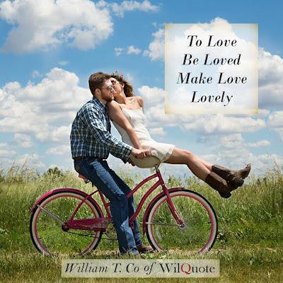 To love Be Loved Make Love Lovely