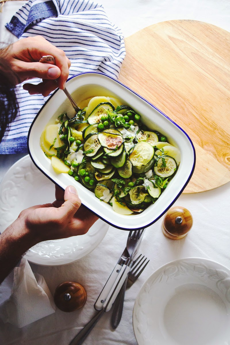 salad, for busy times, Copyright Al Dente Gourmet Blog