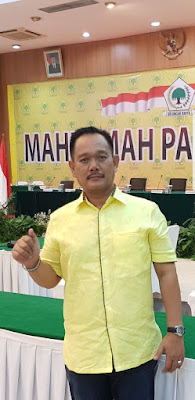 Irwan ST Tak Tergoyahkan Nakhoda Golkar PALI