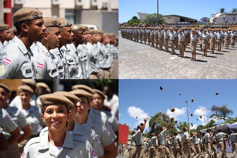 Cento e vinte soldados são incorporados à Polícia Militar da Bahia