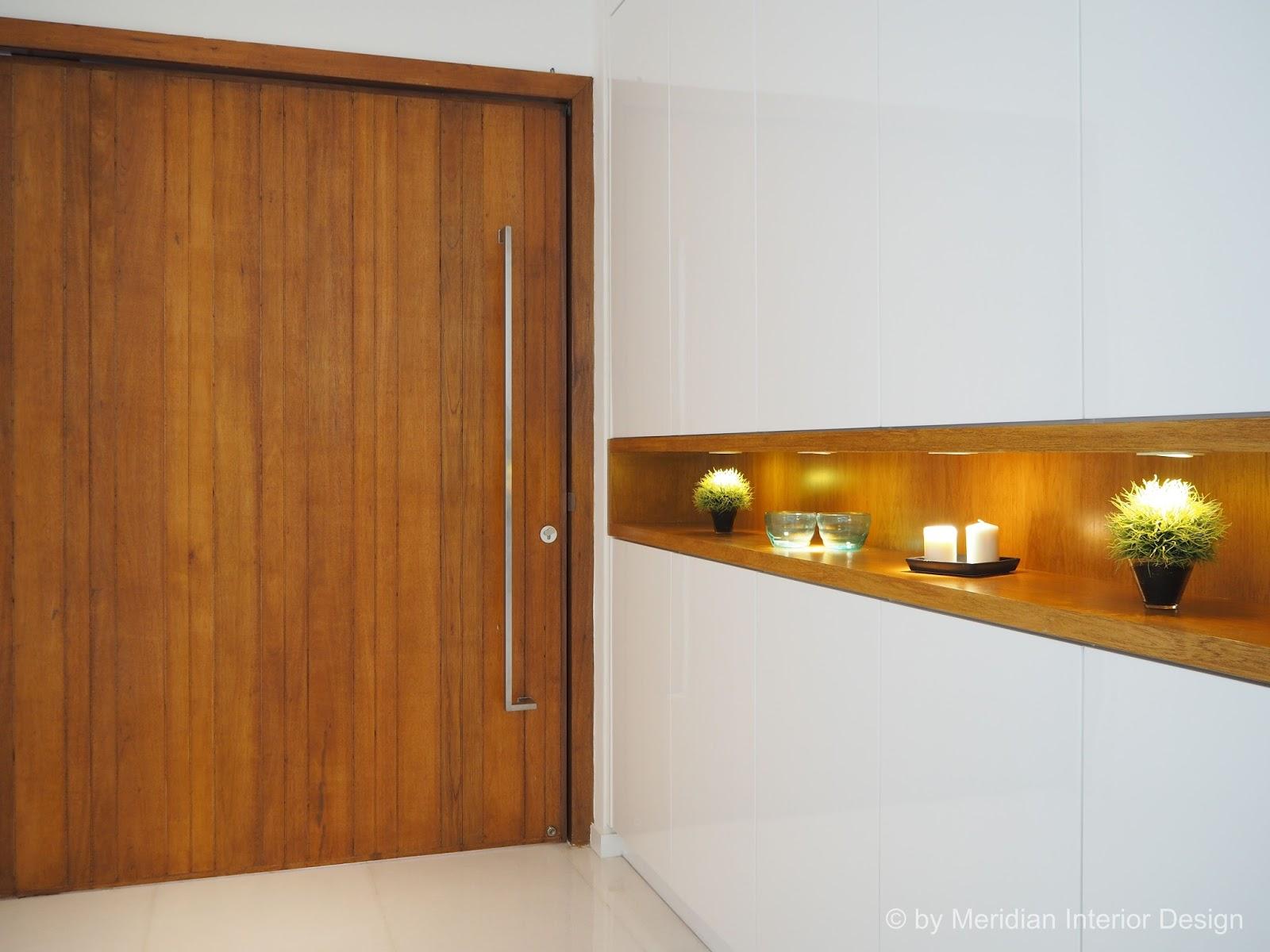 Modern Foyer Interior : Meridian interior design and kitchen in kuala