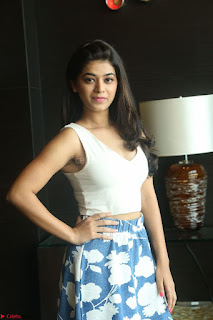 Yamini in Short Mini Skirt and Crop Sleeveless White Top 146.JPG