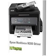 Epson Workforce M200 Driver Download Free 32 bit-64 Bit
